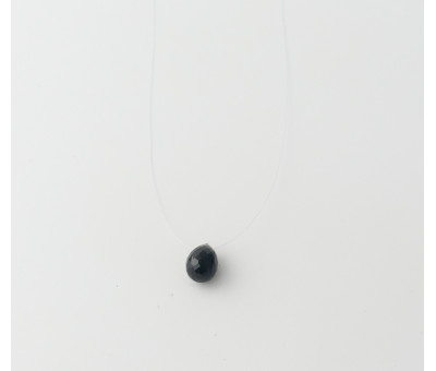 Collier Nylon Pierre Onyx Noir
