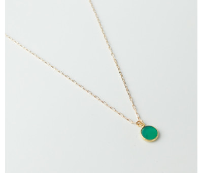 Collier Plaqué Or Satellite