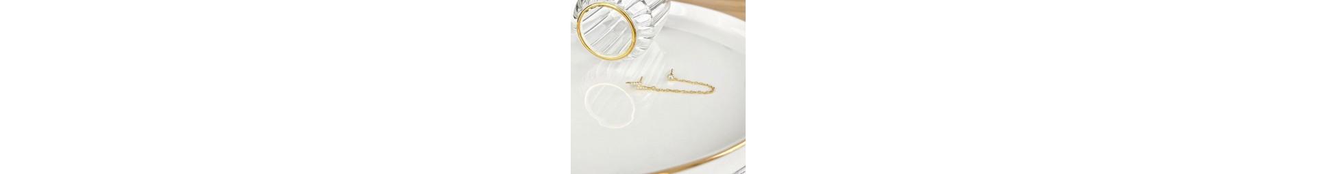 Boucles d'oreilles originales pour femme en argent ou en or - La Petite Tribu